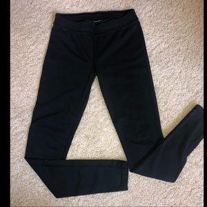 Black Under Armour Crop Leggings- Small